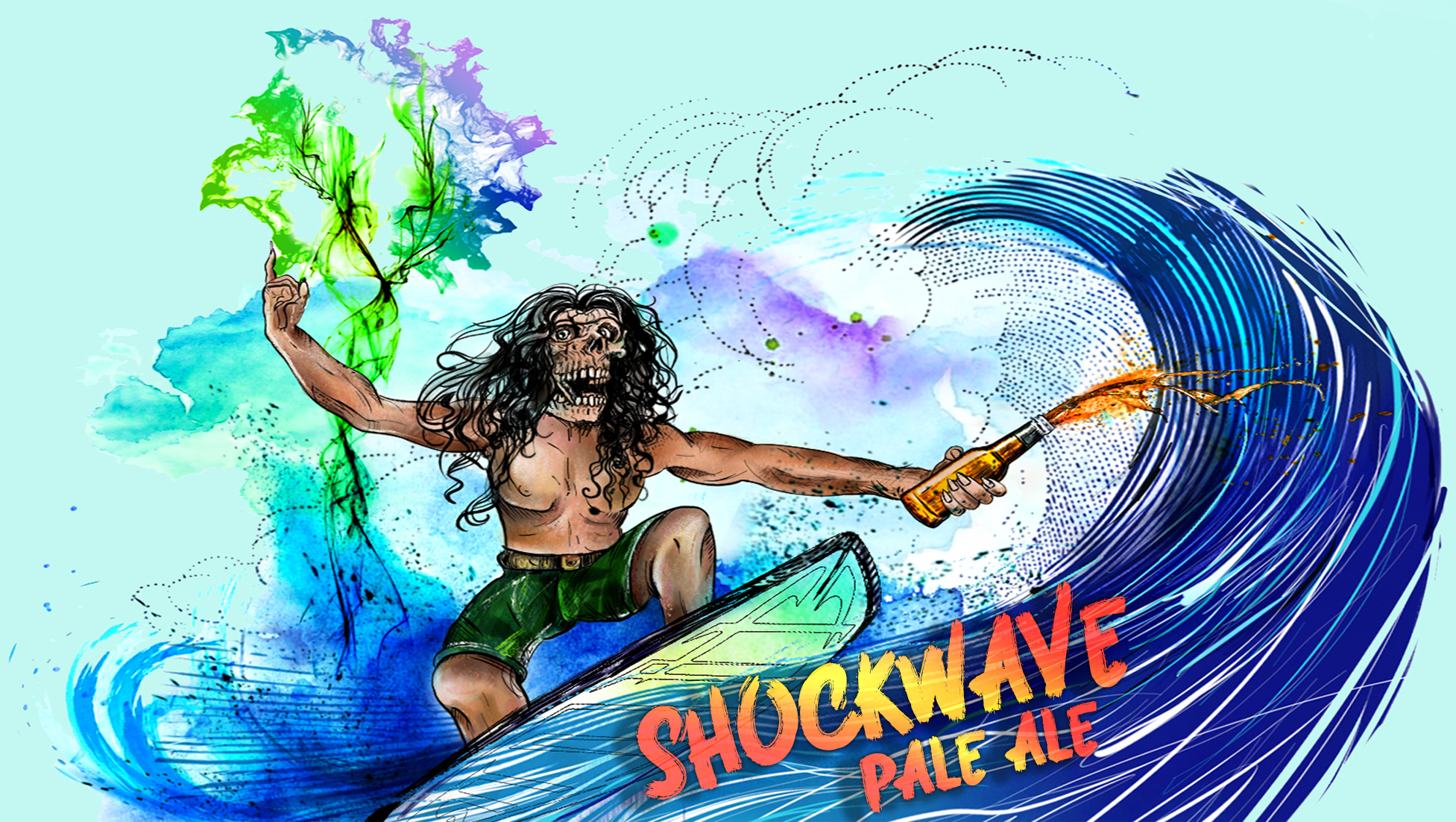 Shockwave_pale ale_artwork